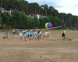 Juegos en campamentos