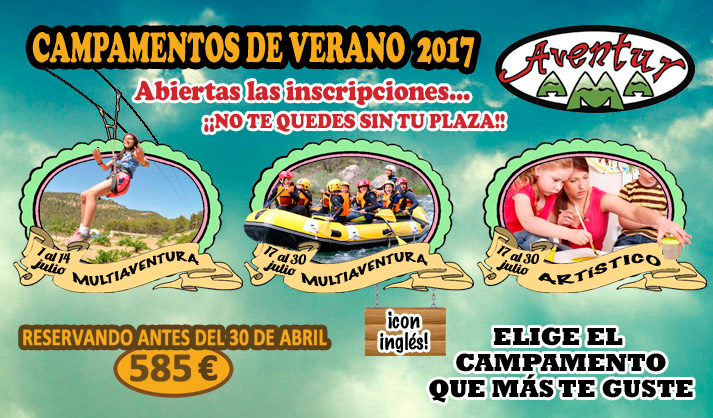Campamentos de verano 2017