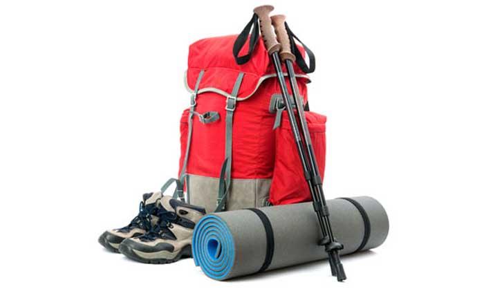 Material y equipo necesario para el campamento
